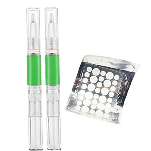 BRAVOLUNE Skin Tag Removal Liquid Drogfri Snabbt Healing Mole Remover Pen Med Huden Tag Plåster