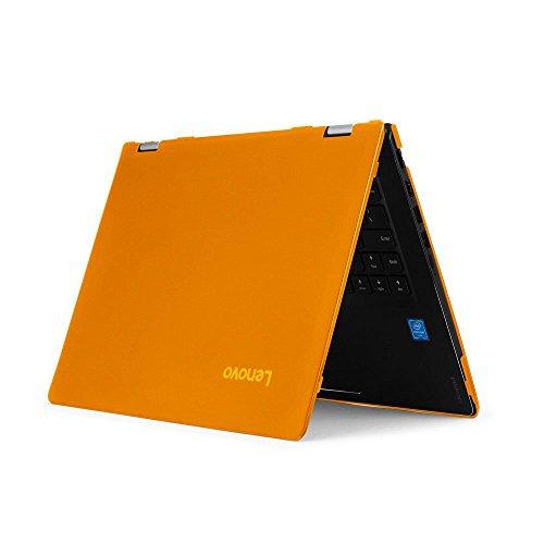 mCover - Carcasa rígida para Yoga, 520, 510, 500, 14', Color Naranja