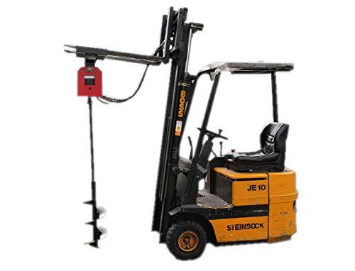TMM Hydraulik Erdbohrer Anbaugerät für Radlader, Gabelstabler, Hoflader, Minibagger, Traktor UVM.