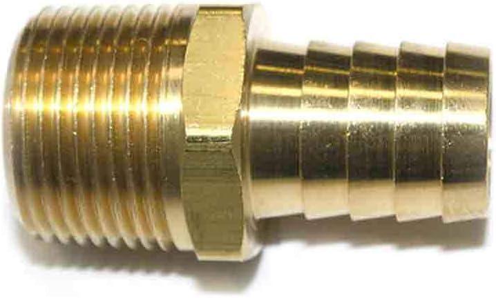 Interstate Pneumatics FM99 お得セット Brass Hose 3 Connector Barb Fitting 人気 おすすめ