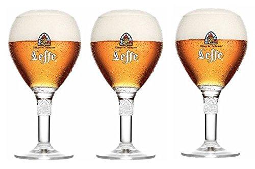 Leffe - Gläser-3er Set von 25 cl Leffe