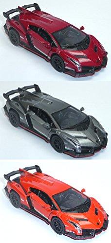 Lamborghini Veneno metallic Sammlermodell 1:36 Neuware
