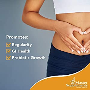 Master Supplements TruFiber - 6.35 Ounces - Prebiotic Fiber to Help Boost Probiotic Growth, Supports Digestive Health, Promotes Weight Loss - Vegan, Gluten Free - 50 Servings