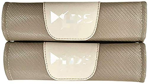 Pads de cinturón de seguridad de automóviles durables 2 unids seguridad de coches cinturón de cinturón de cinturón de cinturón de hombro cubiertas transpirables para C-itroen DS DS4 DS4S DS5 DS6 DS7 D