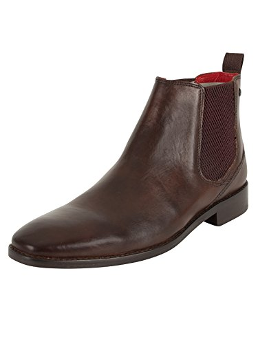 Base London Herren Cheshire Chelsea-Stiefel, Braun, 45