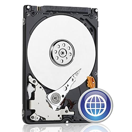 WD Blue 500GB Mobile Hard Disk Drive, 5400 RPM SATA 3 Gb/s 2.5 Inch (WD5000BPVT) (Old Model)