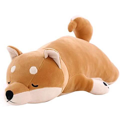 Putuio Adorable Fat Shiba Inu Dog Peluche Peluche Suave Kawaii Animal Cartoon Almohada (53 cm)