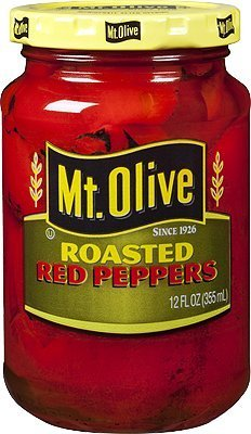Mt. New popularity Olive Roasted sold out Red Peppers - Pack 6 of 12 Ounce