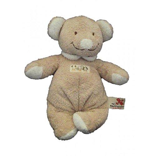 Nicotoy/kitchoun–Kuscheltier Nicotoy Maus Bär beige braun und weiß–2624
