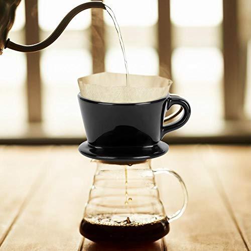 Fendysey Klapka do kawy, filtr do kapania kawy, dodatek do kawy ceramiczny ekspres do kawy do domu kawiarni restauracji kawiarni kawiarni kawiarni sklepu
