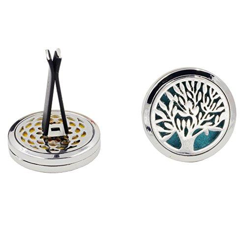 Eleganantstunning Dishykoker boom patroon auto styling outlet parfum clips ventilatie luchtreiniger parfum etherische olie diffuser