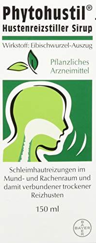 Phytohustil Hustenreizstiller Sirup, die pflanzliche Soforthilfe bei Reizhusten, entzündungshemmend und regenerierend, 150 ml