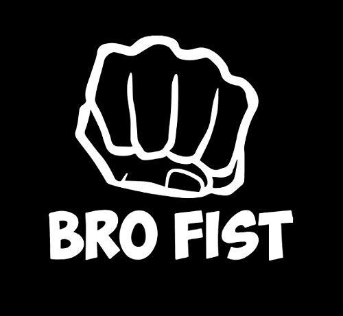 Amazon.com: DecalDestination Bro Fist PewDiePie Decal White Choose Size:  Handmade