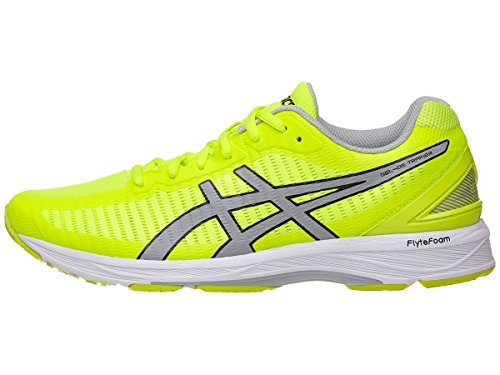 ASICS Men's Gel-DS Trainer 23 Safety Yellow/Mid Grey/White 6 D US