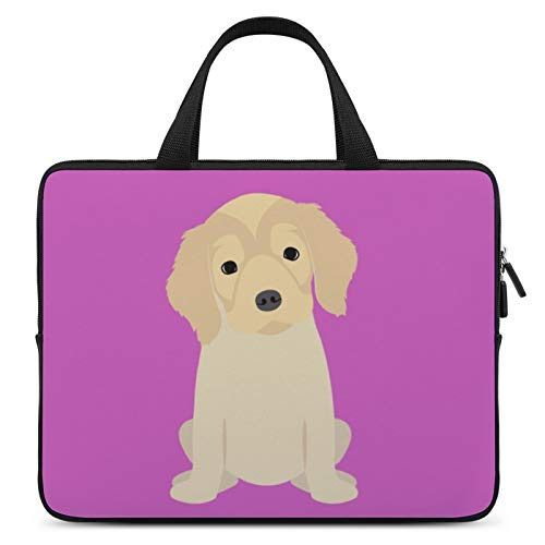 Universal Laptop Computer Tablet,Case,Cover for Apple/MacBook/HP/Acer/Asus/Dell/Lenovo/Samsung,Laptop Sleeve,Color for Dog Mammal Golden Retriever,10inch