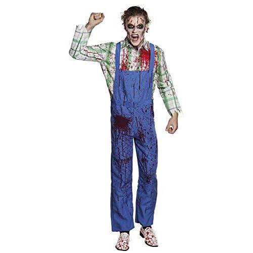 Boland 79115 Costume da Bob l'Killer, da Adulto, Taglia 50/52