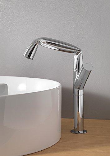 Rubinetteria Flaminia Fold Miscelatore monoforo lavabo alto in ottone FL3055