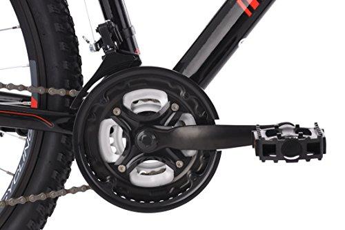 KS Cycling Mountain Hardtail Carnivore Alu-Rahmen Fahrrad, schwarz, 27,5 Zoll - 2