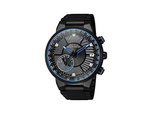 Citizen CC3078-81E Satellite Wave GPS F150 Armbanduhr Satelliten-Synchronisation des Zeitsignals, Zeitempfang in 3 bis 30 Sekunden, Empfang der geografischen Position (GPS)