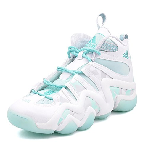 adidas Chaussure Basketball Crazy 8 Blanc-Vert C75759