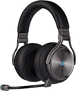Corsair Virtuoso RGB Wireless SE High-Fidelity Gaming Headset, 7.1 Surround Sound, Broadcast-Grade Omni-Directional Microphone with PC, Xbox One, PS4, Switch and Mobile Compatibility - Gunmetal (B07Z7LT6G2) | Amazon price tracker / tracking, Amazon price history charts, Amazon price watches, Amazon price drop alerts