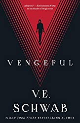 Book cover of Vengeful by V.E Schwab