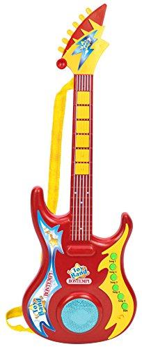 Bontempi–Guitarra, 246909, Rojo/Amarillo
