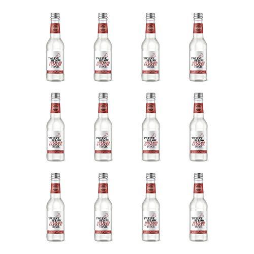 Twelve Below Rhubarb and Ginger Tonic - Botella de cristal (500 ml, 12 unidades)