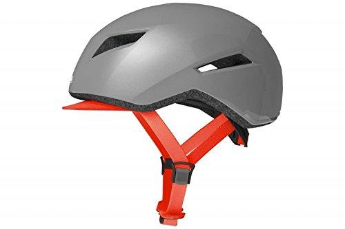 ABUS Yadd-I - Lg - 58-62 Bike Helmet, Brilliant Grey, Large