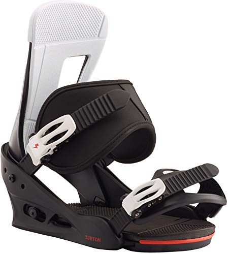 Burton Freestyle Snowboard Bindings Mens Sz L (10+) Black