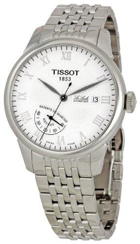 Tissot Men's T0064241126300 Le Locle White Dial Watch