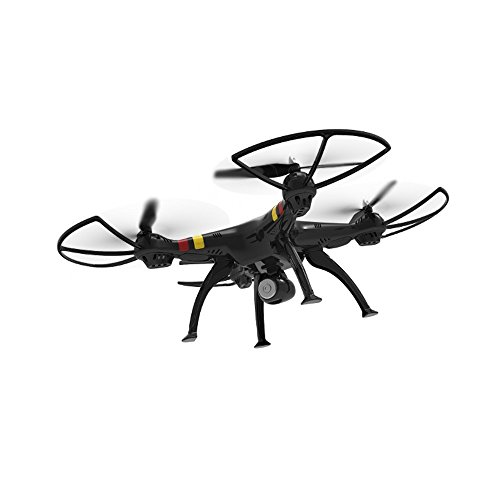 SYMA X8W WiFi Quadrocopter Schwarz Live FPV Videoübertragung Explorer Drohne FPV Kamera inkl. Copter Card