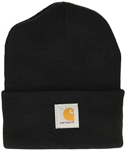 Carhartt Unisex Beanie Acrylic Watch Hat Schwarz Black One Size