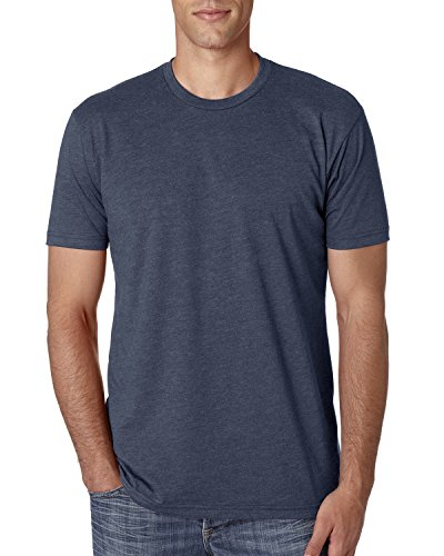 Next Level Apparel Men's CVC Crewneck Jersey T-Shirt