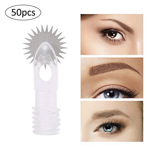 Microblading Roller Nadeln, Einweg Sterile Augenbraue Tattoo Nadel, Permanent Make-Up Roller Pins...