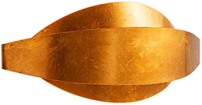 Lampenwelt LED Wandleuchte, Wandlampe Innen 'Jamil' (Modern) in Gold Messing aus Metall u.a. für Wohnzimmer & Esszimmer (2 flammig, G9, A+, inkl. Leuchtmittel) - Wandstrahler, Wandbeleuchtung