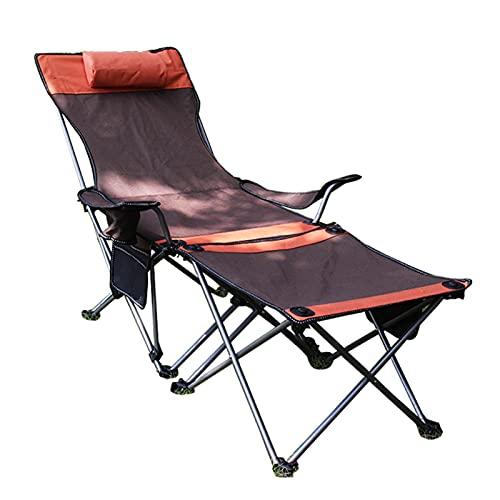 Campingstuhl Faltbar, Angelstuhl mit Armlehne, Karpfenstuhl 150kg, Klappstuhl Camping Stuhl Leicht mit FußAblage, Verstellbar Niedrig Faltstuhl Camping Carp Chair Yadla