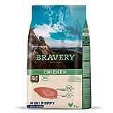 Bravery Mini Puppy - Pienso de Pollo para Perro, 2 kg, Talla S