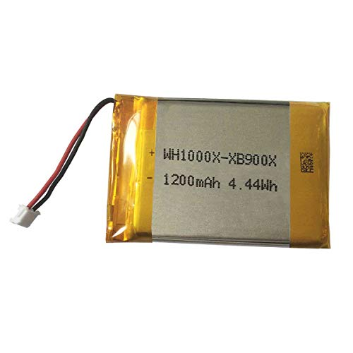 1200mAh Battery Replacement for Sony WH-XB900N Wireless Headphones Whxb900n Wh1000xm4 Wh-H910n Battery Upgrade