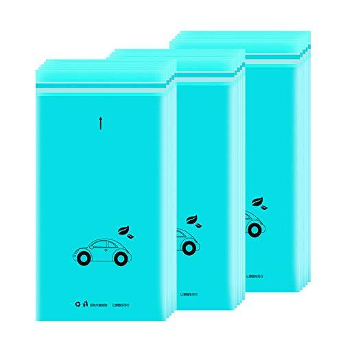 HEZHANG Bolsa autoadhesiva para almacenar vehículos, se utiliza para almacenar un vehículo, oficina, cocina, 30 cubos de basura de coche impermeables