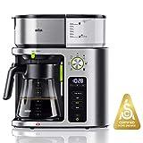 Braun KF9070SI MultiServe Coffee Machine 7 Programmable Brew Sizes / 3 Strengths + Iced Coffee & Hot...