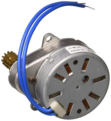 Fleck 19659 5600 Replacement Timer & Piston Drive Motor (24v-60Hz-1/30 OEM Part# 19659-1, 24V/60Hz/1/30 rpm, Silver