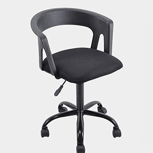 Sillas de Oficina Silla de la computadora Silla de Oficina Silla de la elevación de Escritorio de Nuevo Presidente de la Conferencia for sillas de Ruedas Silla Ajustable (Color : Black)