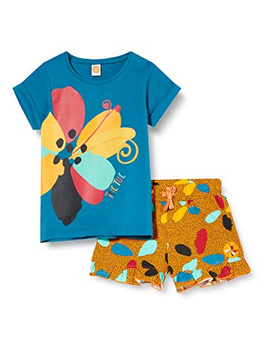Tuc Tuc Conjunto Camiseta Y Legging Pirata NI/ÑA Rojo Tropical Jungle