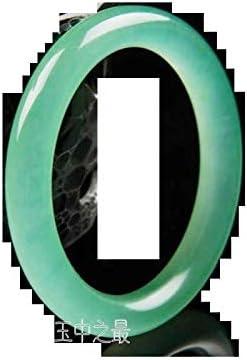 56-62 mm Certified Natural Jadeite Emerald A*Jade Beads Stretchy Hand catenary \u4e32\u73e0\u624b\u94fe 1287-4s Bracelet