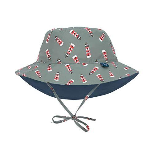 LÄSSIG Sonnenhut Kinder - Bucket Hat, Lighthouse, 18-36 Monate
