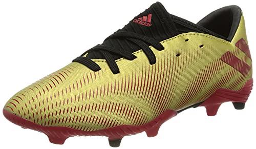 adidas Nemeziz Messi .3 FG J, Zapatillas de fútbol, Dormet/Escarl/NEGBÁS, 36 2/3 EU