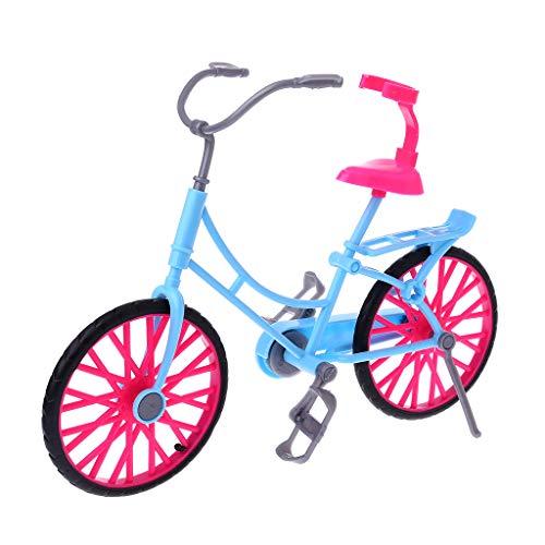 Exing - Bicicleta de muñeca, Juguetes para niños, minibicicleta, Accesorios de muñeca, Exquisito, para Hacer Regalos para niños