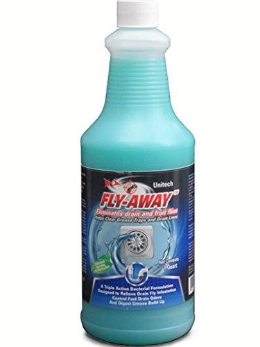 FLY-AWAY Drain Fly Killer, Fruit Fly Killer, Drain Fly Treatment, Grease Digester, Fruit Fly Treatment