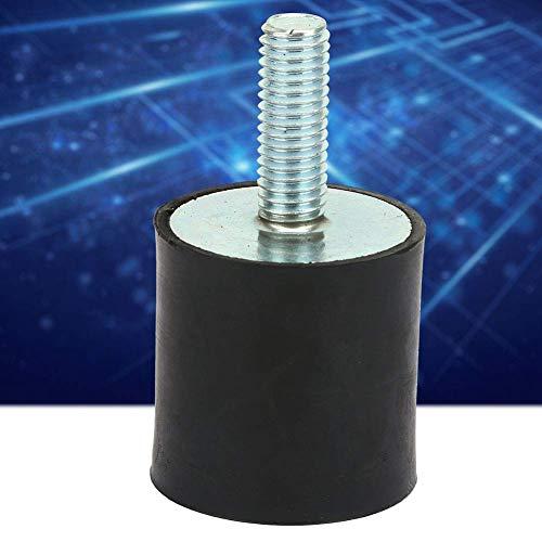 YeVhear 4 UDS.Cojinetes de goma, cojinetes aislantes de goma, cojinetes de goma M8, amortiguadores para reducir la vibración y el ruido, obviamente para reducir el ruido y los golpes (VD30 * 30 M8 *